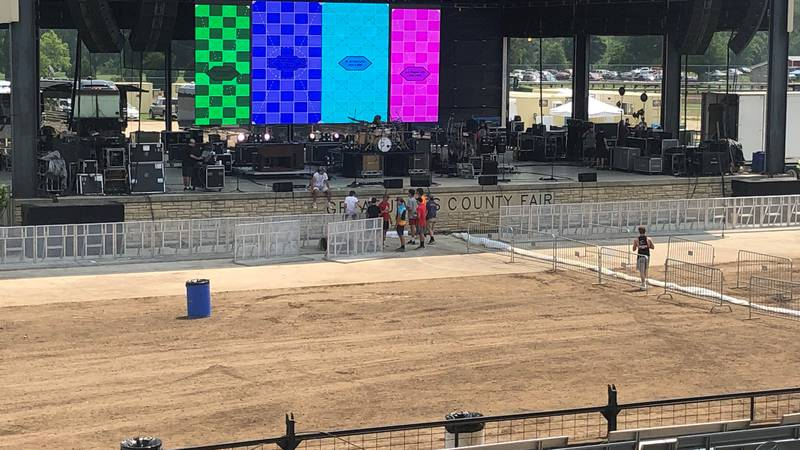 16,000 people expected to attend Zac Brown Band concert. Heat will be an issue.