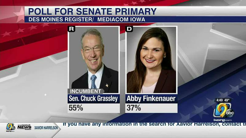 A new poll shows more than half of Iowa voters want to keep Republican Senator Chuck Grassley...