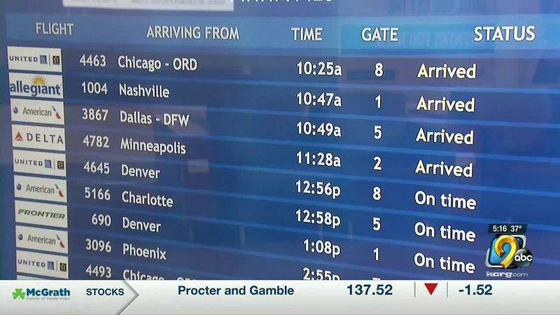 Eastern Iowa Airport seeing uptick in Christmas travelers as doctors worry about an...