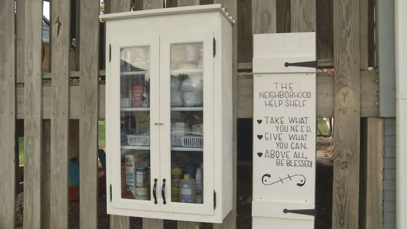 Neighborhood Help Shelf