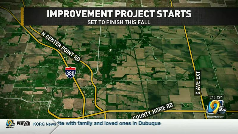 Construction is set to start today on a busy stretch of road in Linn County.