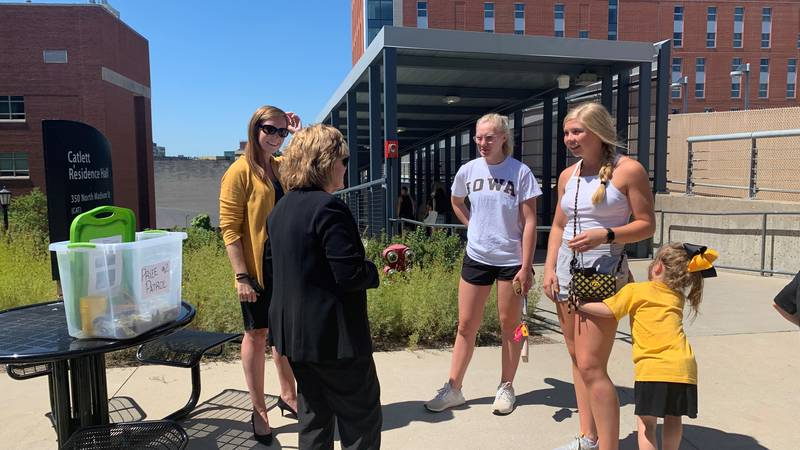 University of Iowa students began moving to campus this week as the Fall semester gets underway.