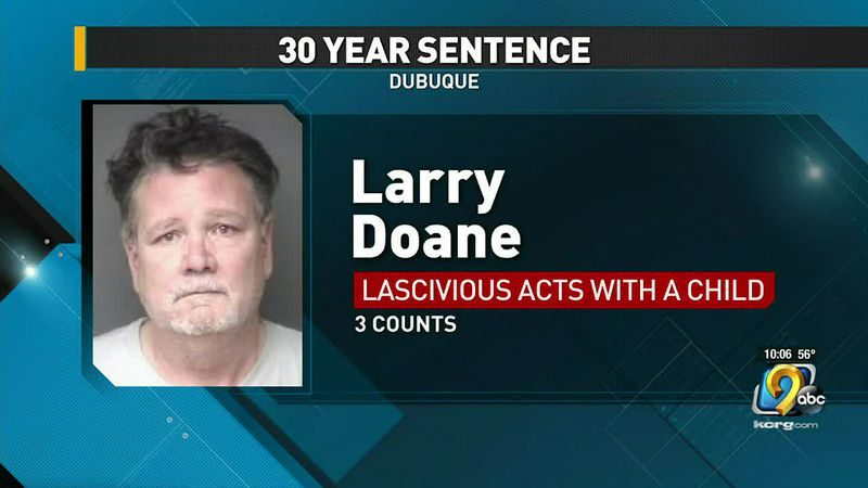 Dubuque man sentenced to 30 years in prison for sexually abusing a child