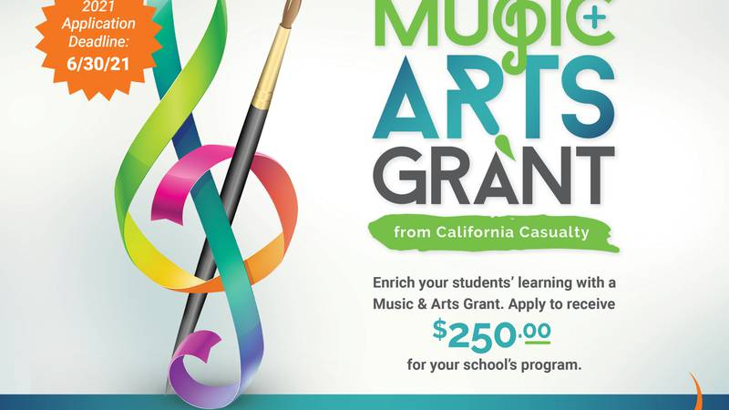 California Casualty's Music and Arts Grant program receives applications year-round. To be...