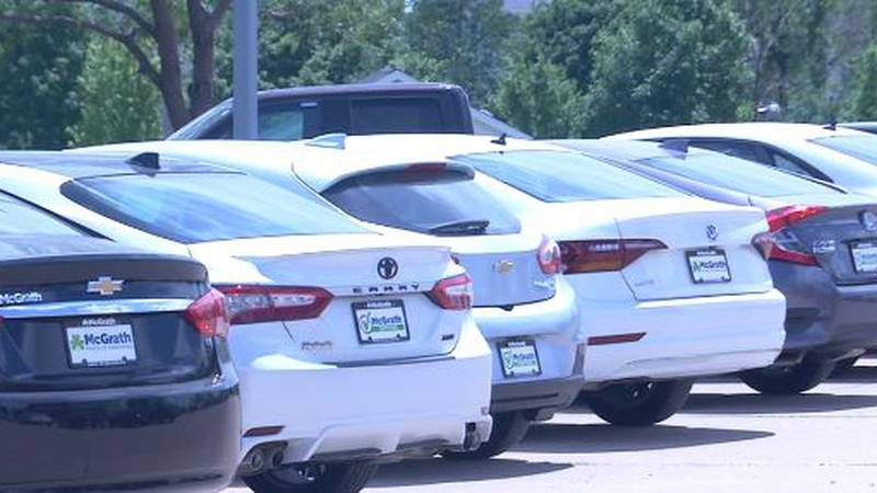 Used car dealerships seeing higher prices because of chip shortage. (KCRG)