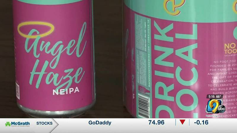 Backpocket beer sold inside Kinnick will raise awareness for 'No Foot Too Small'