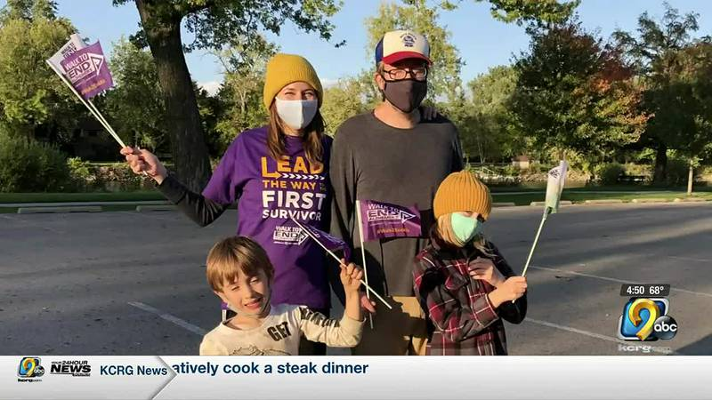 The Walk to End Alzheimer's in Iowa City raised more than $45,000 for research.