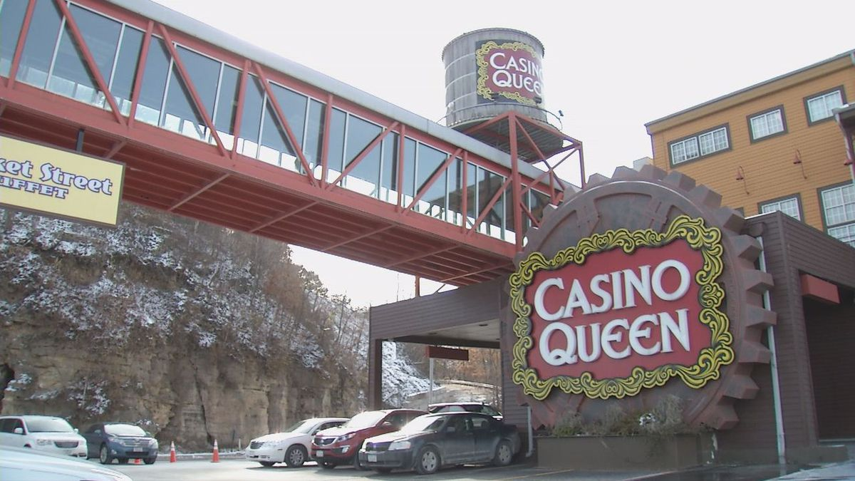 The Casino Queen in Marquette on Friday, November 8, 2019. (Charlie Grant, KCRG)