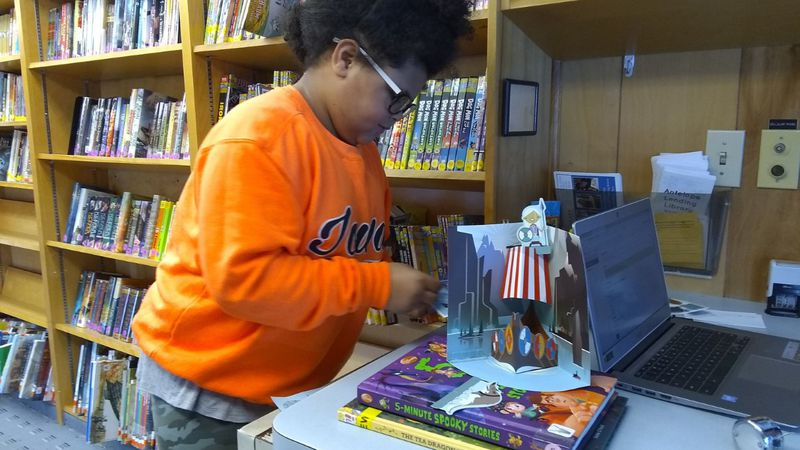 The Bookmobile Lending Library said the grant from last year helped them survive during the...
