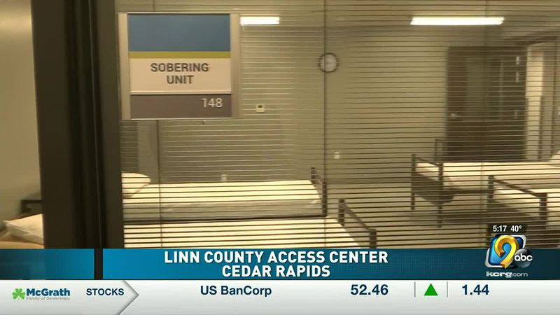 A ribbon cutting ceremony was held today for the first 24-7 Mental Health Access Center in Linn...