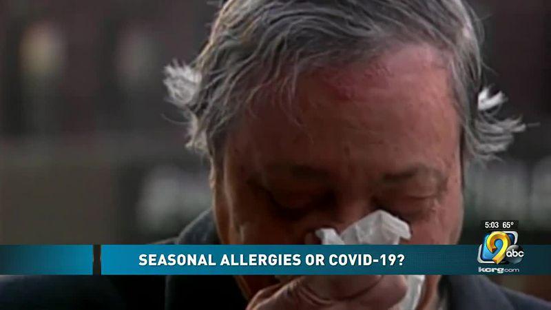 COVID-19 or seasonal allergies?