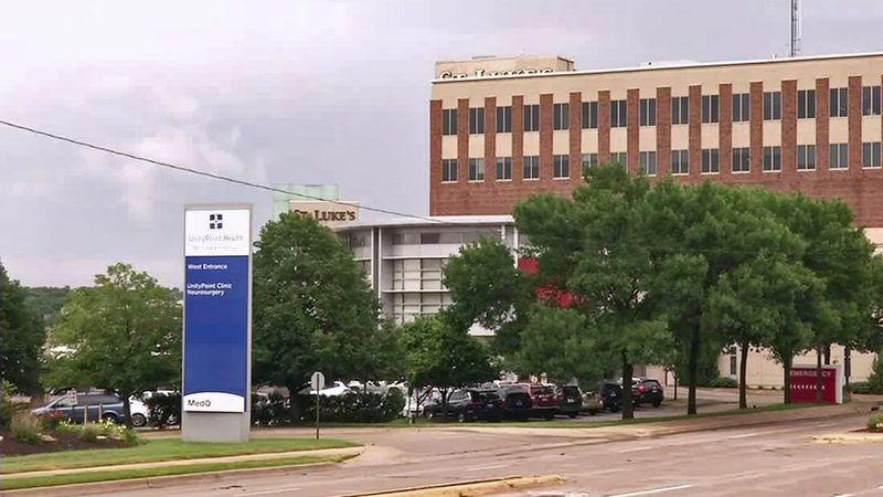 UnityPoint Health-St. Luke's Hospital in Cedar Rapids.