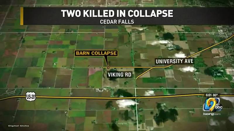 Cedar Falls Barn Collapse
