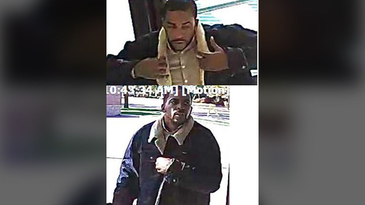 Police said a suspect, pictured above, is accused of stealing thousands of dollars worth of jewelry in October from the Jared store near Lindale Mall. (Cedar Rapids Police Department)
