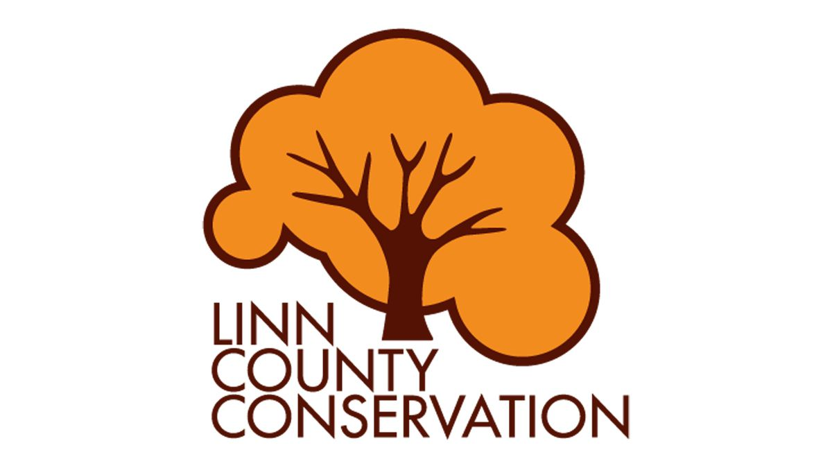 The logo for Linn County Conservation.