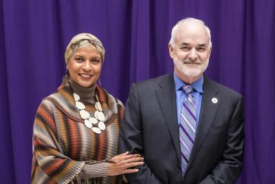 David and Karen Takes are donating $10 million to the University of Northern Iowa. (University of Northern Iowa Foundation)