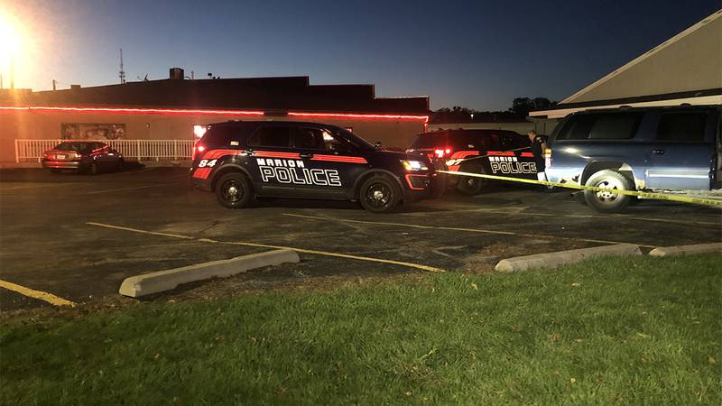 Marion Police investigate a shooting outside of QDogs Restaurant located along Blairs Ferry...