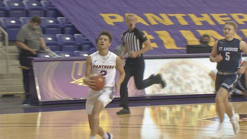 Northern Iowa dominated St. Ambrose in its home opener on Friday night.