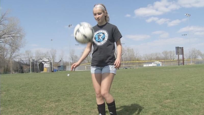 This week's KCRG-TV9 Athlete of the Week is Iowa City Regina soccer player Grace Gaarde.