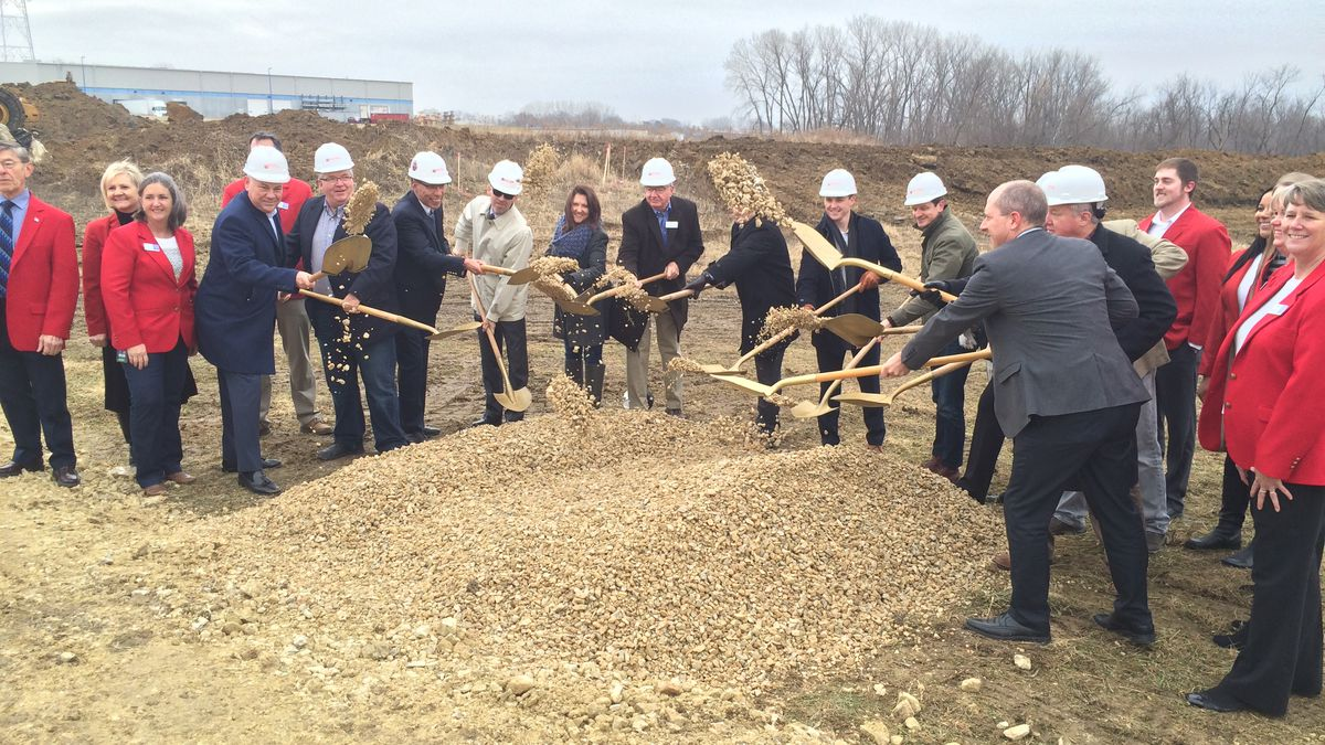 A groundbreaking ceremony marked the official start of construction of Iowa Relief's Cannabis Cultivation and Processing plant on the southwest side of Cedar Rapids.