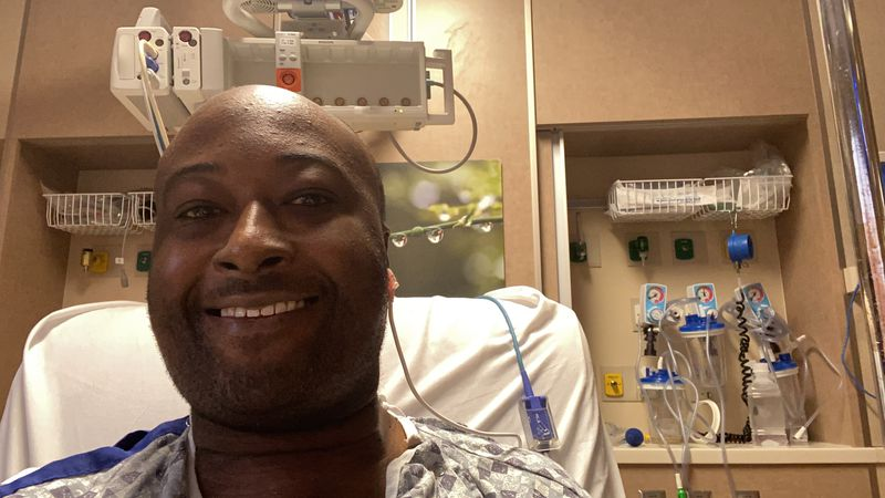 Marcus Jones got a heart transplant at University of Iowa Hospitals and Clinics.
