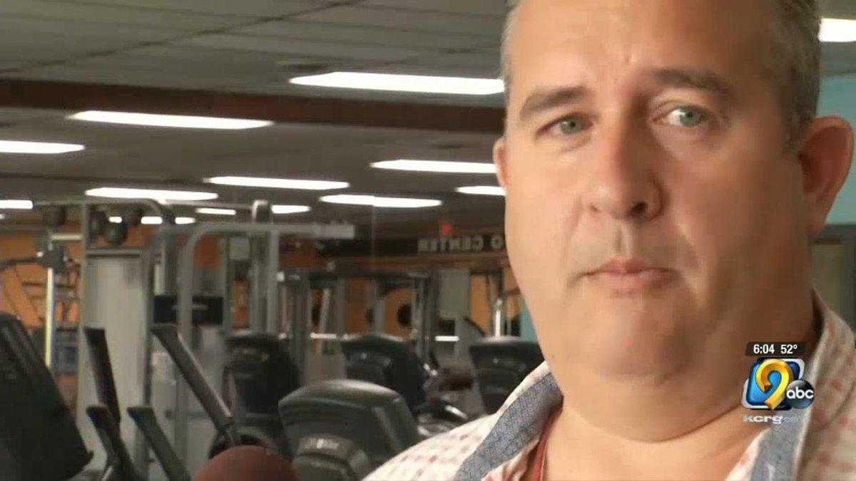 Jason Bailey, owner of Custom Fitness in Cedar Rapids (Mary Green/KCRG)