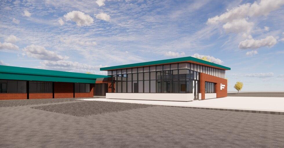Konstruksi dan renovasi untuk Prairie Crest Elementary diharapkan akan dimulai pada bulan Juni ...