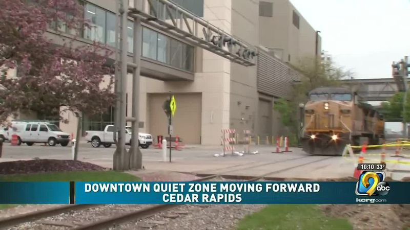 """City said it has a better timeline of when the """"Quiet Zone"""" project would be completed"""