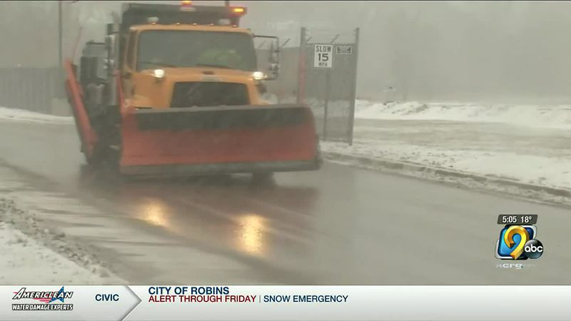 Dubuque city leaders recommend people postpone travelling until Friday while they clean the...