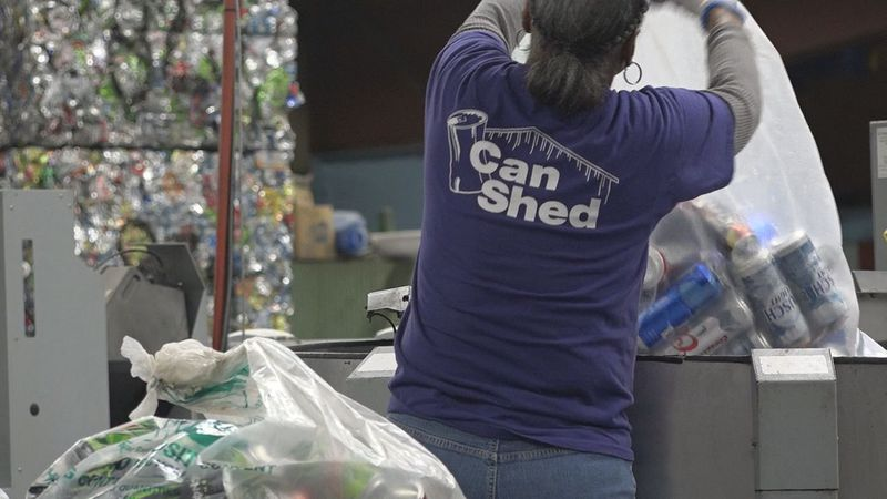 Can Shed and Redemption Centers are facing added stress and strain to process bottles and cans...