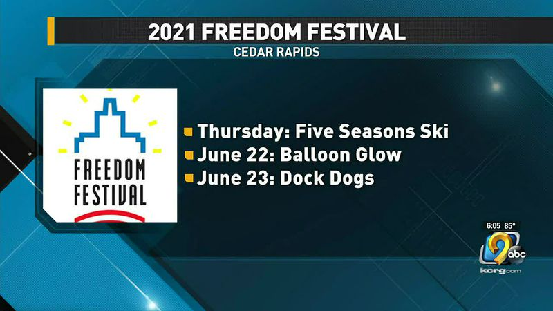 Popular Freedom Festival events.