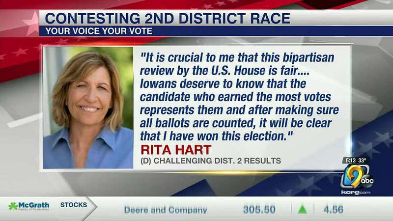 Hart Campaign claims election official mistakes cost her votes and election win