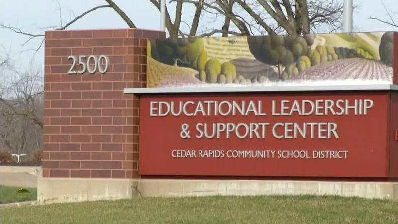 Cedar Rapids Community School District offices.