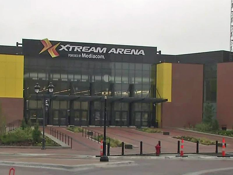 Xtream Arena in Coralville.