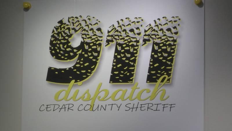 Cedar County dispatch center