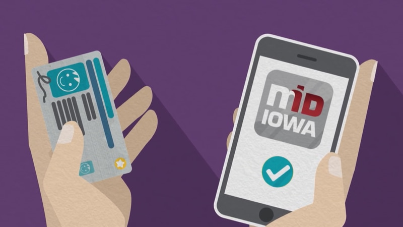 The Mobile ID is expected to launch later this year in Iowa.