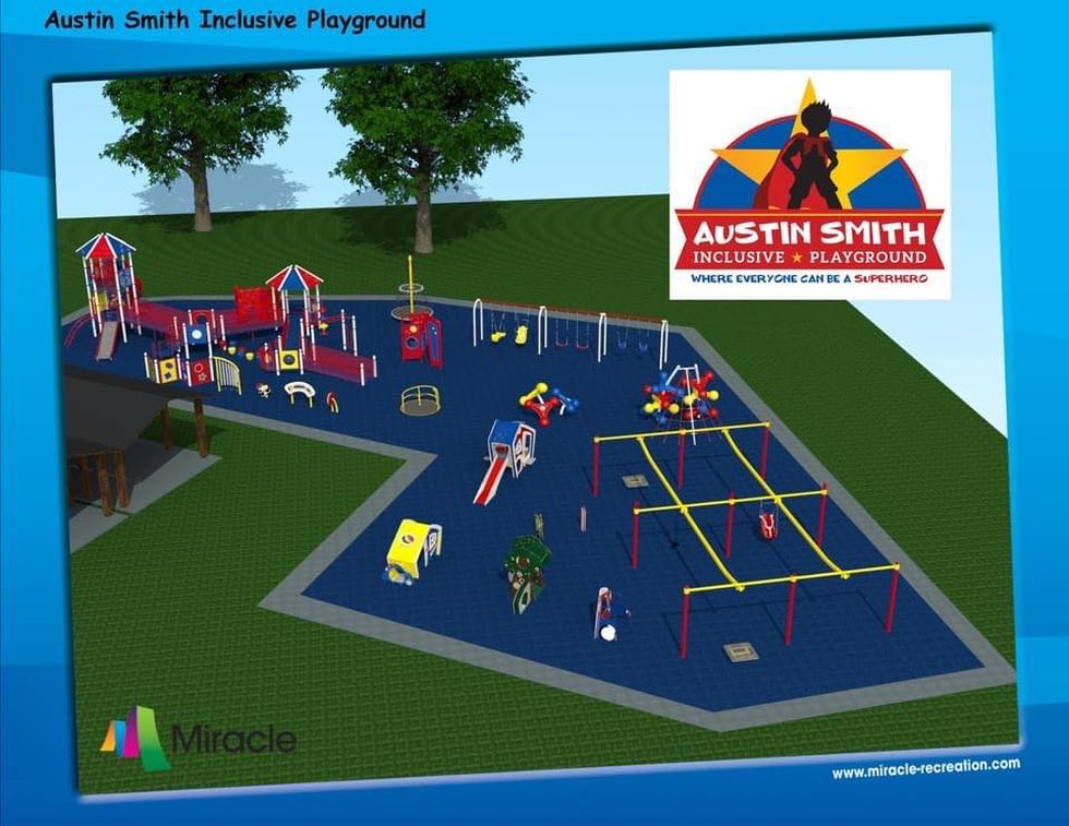 Rendering of Austin Smith Inclusive Playground