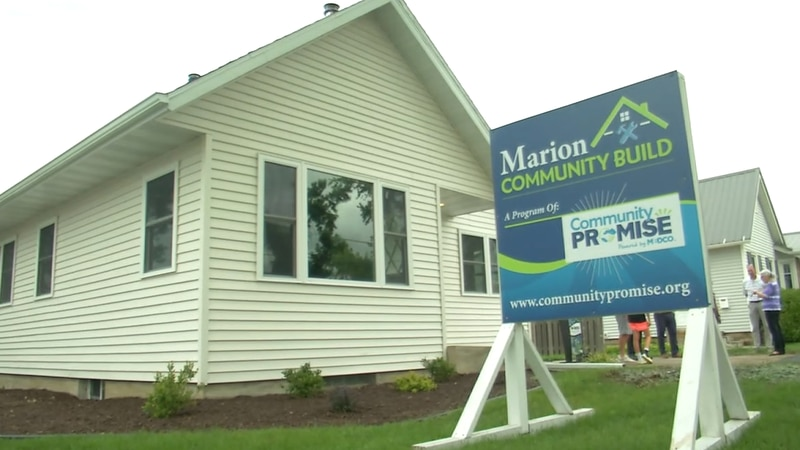 Marion Community Build celebrates first project