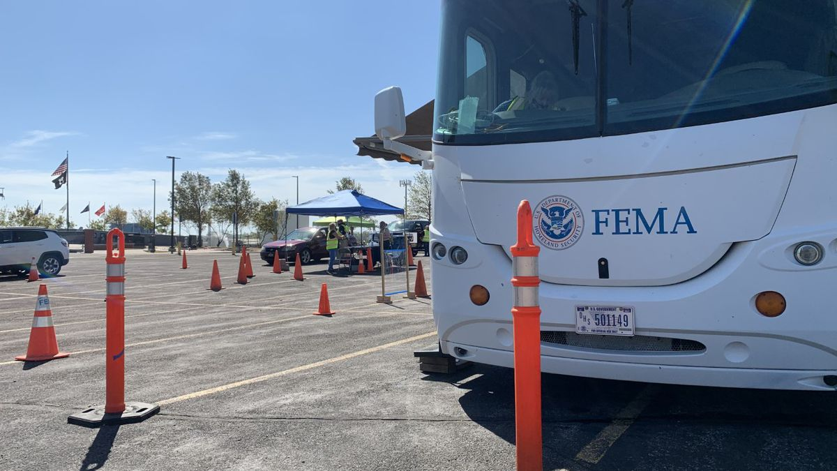 The FEMA Disaster Recovery Center located at 950 Rockford Rd. SW in Cedar Rapids on Wednesday, September 2nd, 2020.