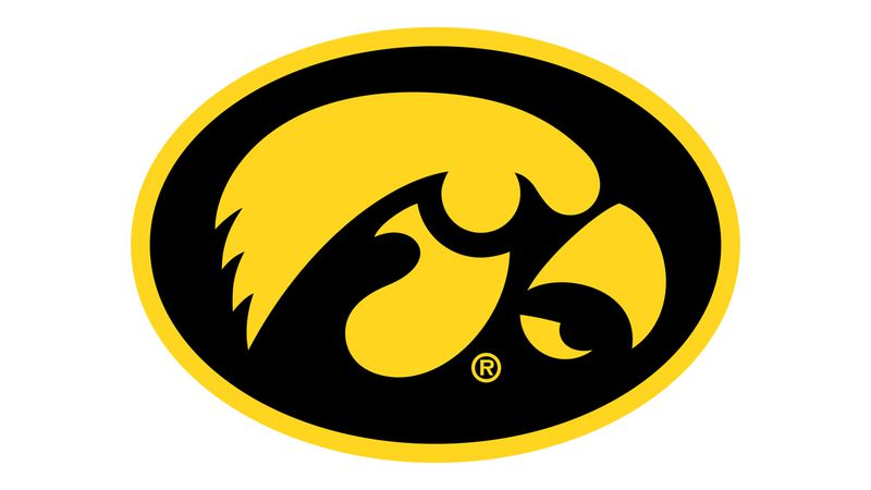 University of Iowa Hawkeyes logo.