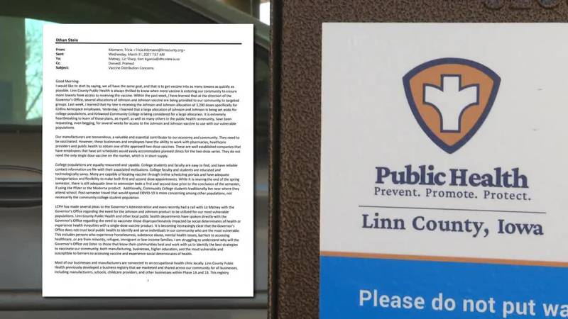 """""""Words mean nothing without action"""" Emails show Linn County Health begging to have more say in..."""
