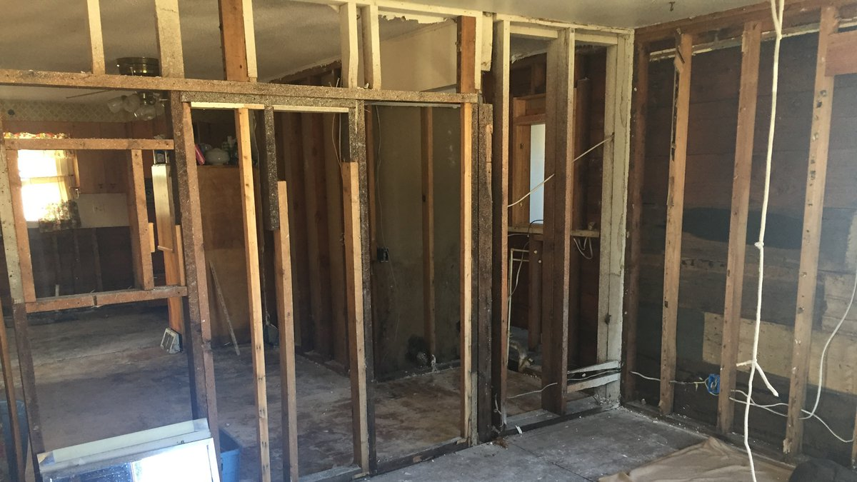 Homeowners in Clarksville like Dana Stock are still trying to fix up their homes after the...