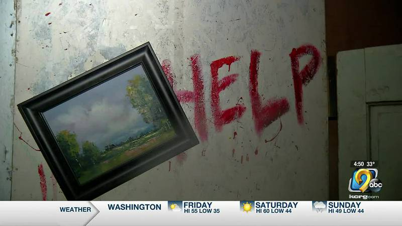 The Garrison Fire Department is opening its haunted house this weekend.