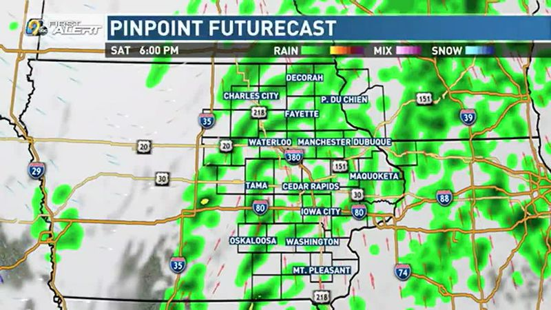 Light, scattered looks to move in tomorrow with the arrival of our next system. Expect...