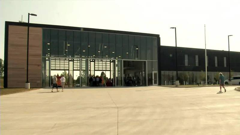 New Marion Fire Department Headquarters opens after months of delays.