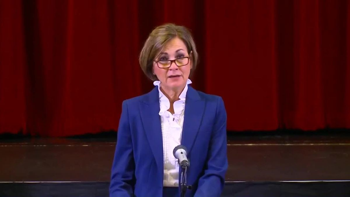 Iowa Gov. Kim Reynolds announces schools will open classrooms in the fall.