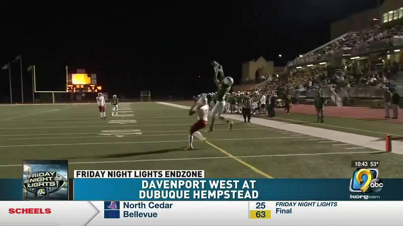 Dubuque Hempstead downs Davenport West 28-0