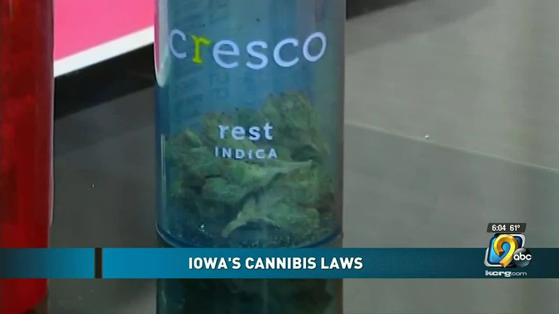 A look at Iowa cannabis laws