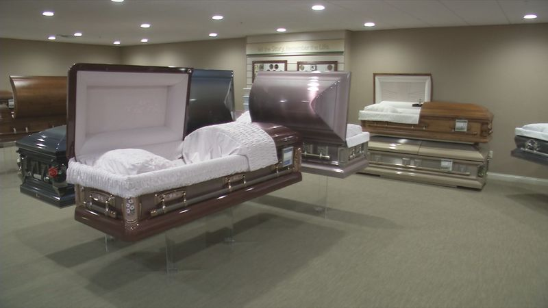 Caskets at Teahen Funeral Homes