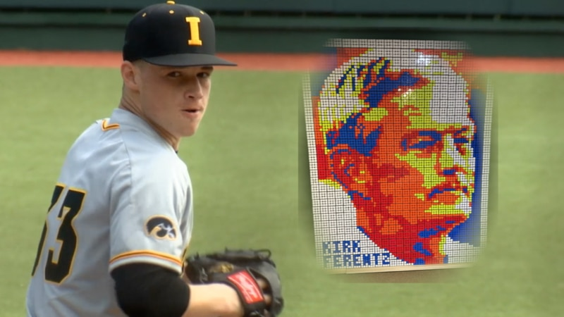 Jack Dreyer doubles as star pitcher as Rubiks Cube artist